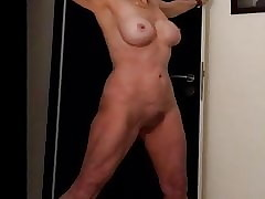 Striptease sex tube - fucking moms pussy